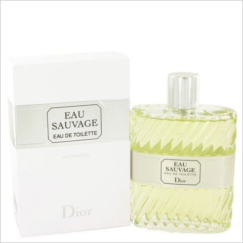 EAU SAUVAGE by Christian Dior Eau De Toilette Spray 6.8 oz for Men - COLOGNE