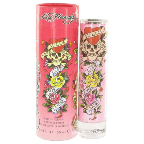 Ed Hardy by Christian Audigier Eau De Parfum Spray 1.7 oz - WOMENS PERFUME