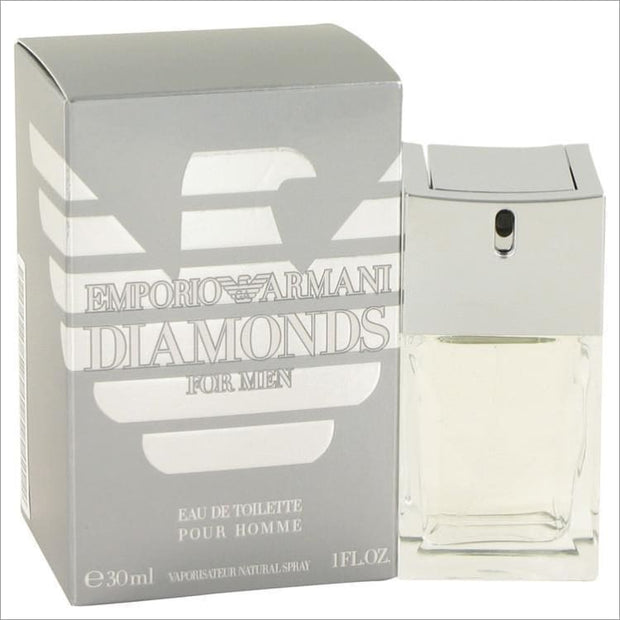 Emporio Armani Diamonds by Giorgio Armani Eau De Toilette Spray 1 oz for Men - COLOGNE