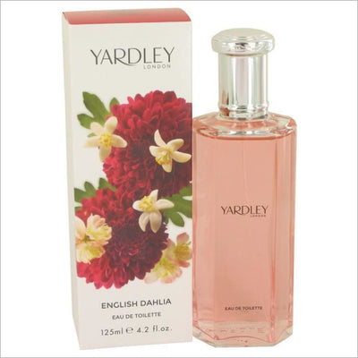 English Dahlia by Yardley London Eau De Toilette Spray 4.2 oz for Women - PERFUME