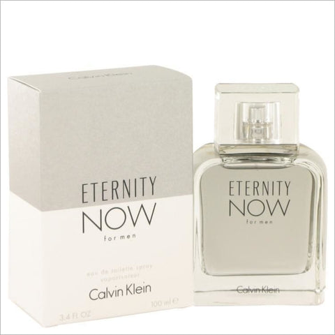 Eternity Now by Calvin Klein Eau De Toilette Spray (Tester) 3.4 oz for Men - COLOGNE