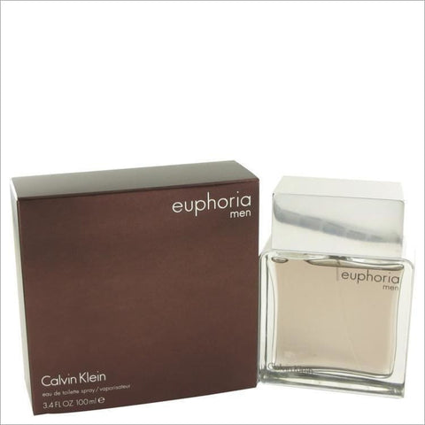 Euphoria by Calvin Klein Eau De Toilette Spray 3.4 oz for Men - COLOGNE