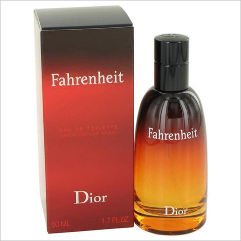 FAHRENHEIT by Christian Dior Eau De Toilette Spray 1.7 oz for Men - COLOGNE