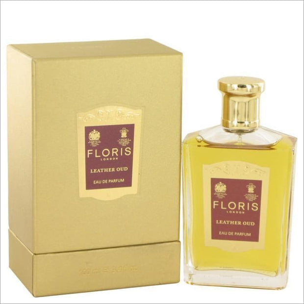Floris Leather Oud by Floris Eau De Parfum Spray 3.4 oz for Women - PERFUME