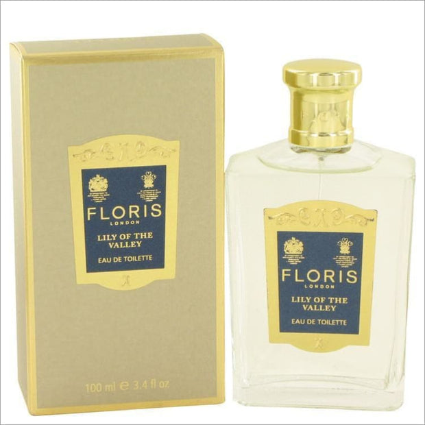 Floris Lily of The Valley by Floris Eau De Toilette Spray 3.4 oz for Women - PERFUME