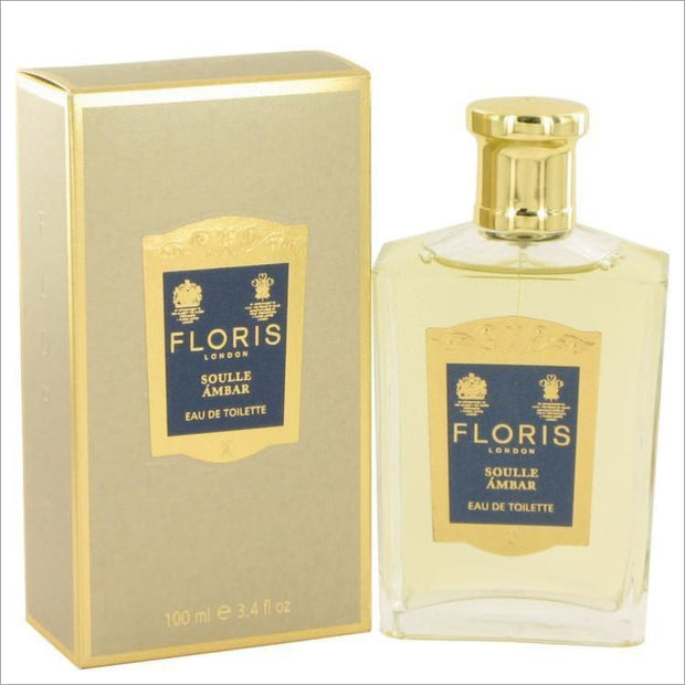 Floris Soulle Ambar by Floris Eau De Toilette Spray 3.4 oz for Women - PERFUME