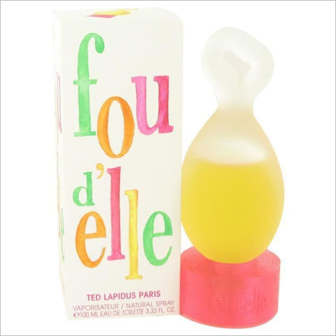 Fou Delle by Ted Lapidus Eau De Toilette Spray 3.33 oz for Women - PERFUME