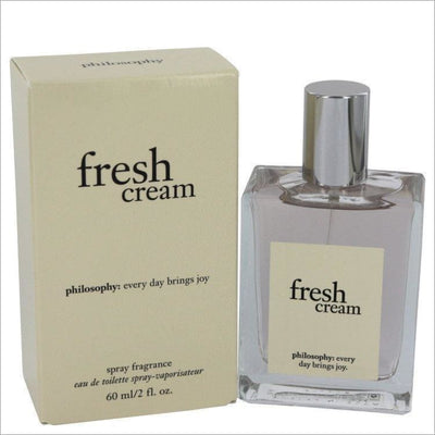 Fresh Cream by Philosophy Eau De Toilette Spray 2 oz for Women - PERFUME