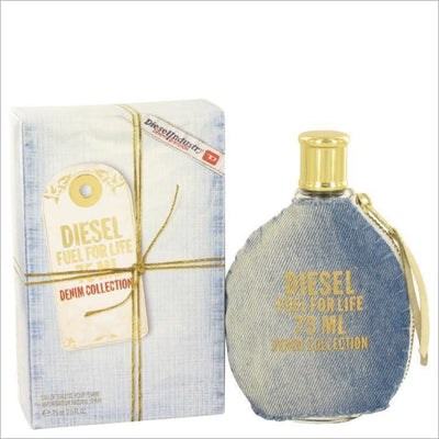 Fuel For Life Denim by Diesel Eau De Toilette Spray 2.5 oz for Women - PERFUME