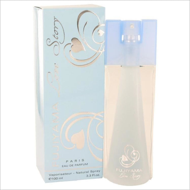 Fujiyama Love Story by Succes De Paris Eau De Parfum Spray 3.3 oz for Women - PERFUME