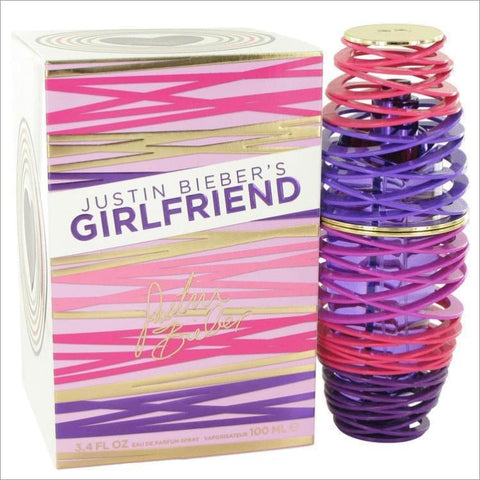 Girlfriend by Justin Bieber Eau De Parfum Spray 3.4 oz for Women - PERFUME