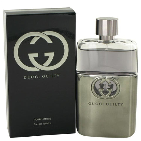Gucci Guilty by Gucci Eau De Toilette Spray 3 oz for Men - COLOGNE