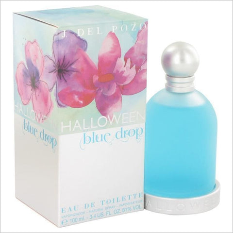 Halloween Blue Drop by Jesus Del Pozo Eau De Toilette Spray 3.4 oz for Women - PERFUME
