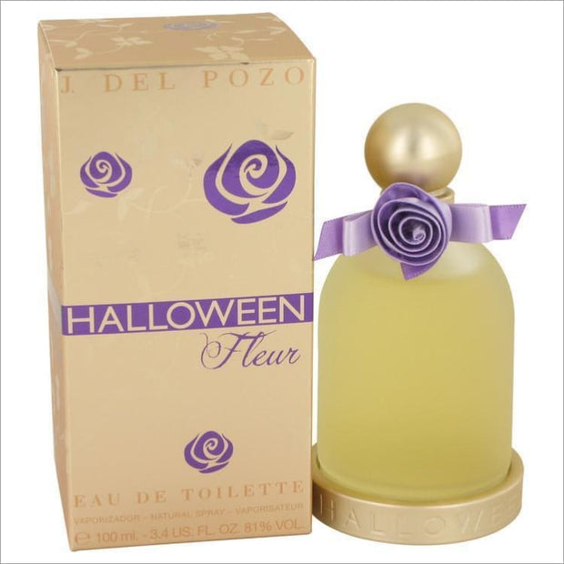 Halloween Fleur by Jesus Del Pozo Eau De Toilette Spray 3.4 oz for Women - PERFUME