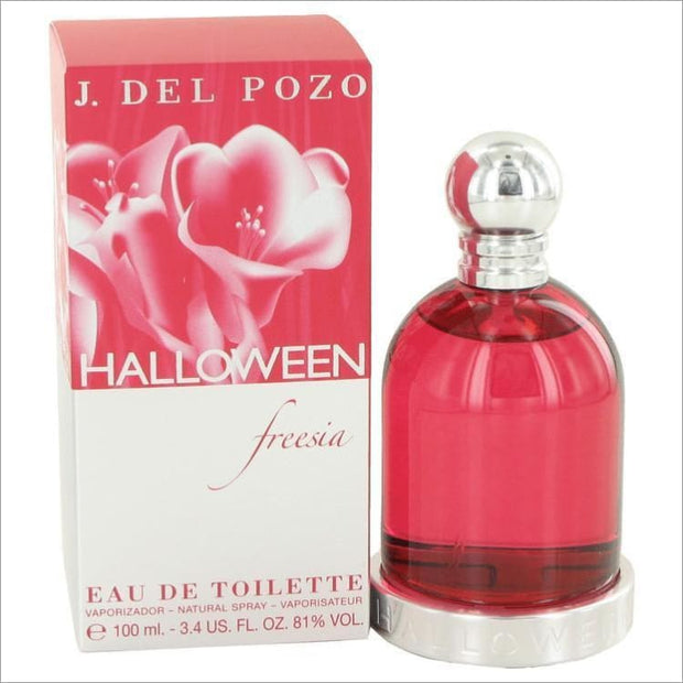 Halloween Freesia by Jesus Del Pozo Eau De Toilette Spray 3.4 oz for Women - PERFUME