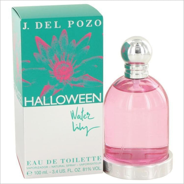 Halloween Water Lilly by Jesus Del Pozo Eau De Toilette Spray 3.4 oz for Women - PERFUME