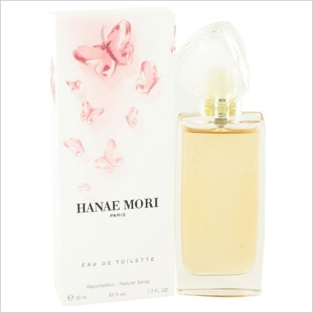 HANAE MORI by Hanae Mori Eau De Toilette Spray 1.7 oz for Women - PERFUME