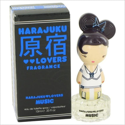 Harajuku Lovers Music by Gwen Stefani Eau De Toilette Spray .33 oz for Women - PERFUME