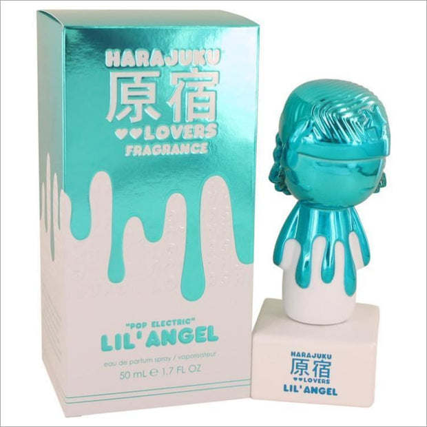 Harajuku Lovers Pop Electric Lil Angel by Gwen Stefani Eau De Parfum Spray 1.7 oz for Women - PERFUME