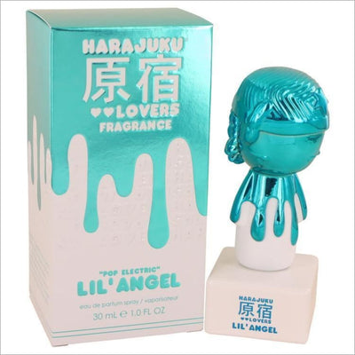 Harajuku Lovers Pop Electric Lil Angel by Gwen Stefani Eau De Parfum Spray 1 oz for Women - PERFUME