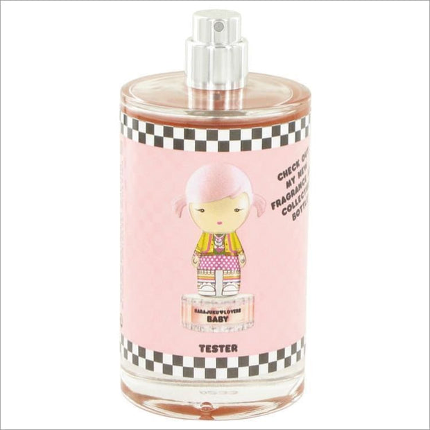 Harajuku Lovers Wicked Style Baby by Gwen Stefani Eau De Toilette Spray (Tester) 3.4 oz for Women - PERFUME