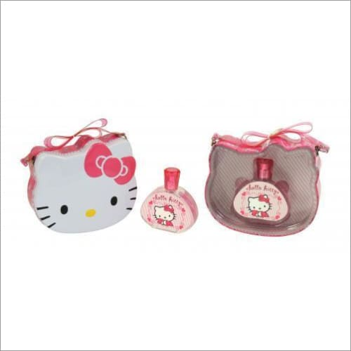 Hello Kitty 3.4 Edt Sp + Metal Lunch Box - South Beach Fragrance Gift Set