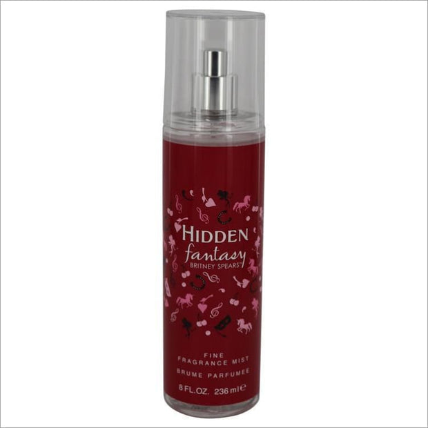 Hidden Fantasy by Britney Spears Fragrance Mist 8 oz for Women - PERFUME