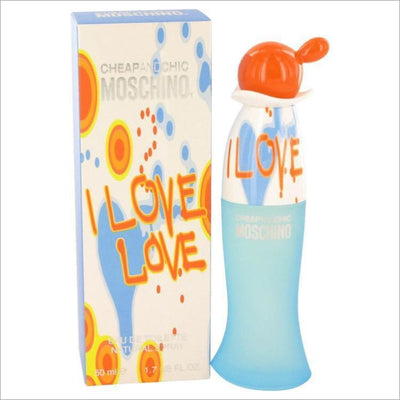 I Love Love by Moschino Eau De Toilette Spray 1.7 oz for Women - PERFUME