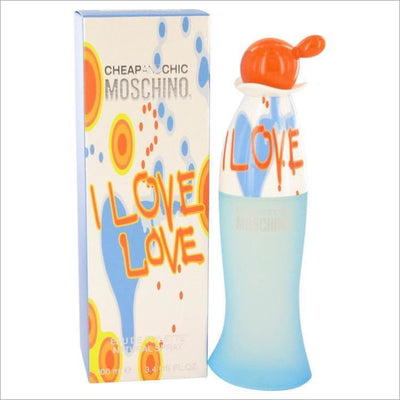 I Love Love by Moschino Eau De Toilette Spray 3.4 oz for Women - PERFUME