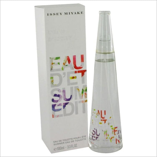 Issey Miyake Summer Fragrance by Issey Miyake Eau De Toilette Spray Alcohol Free 2007 3.3 oz for Women - PERFUME