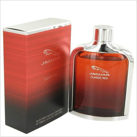 Jaguar Classic Red by Jaguar Eau De Toilette Spray 3.4 oz for Men - COLOGNE