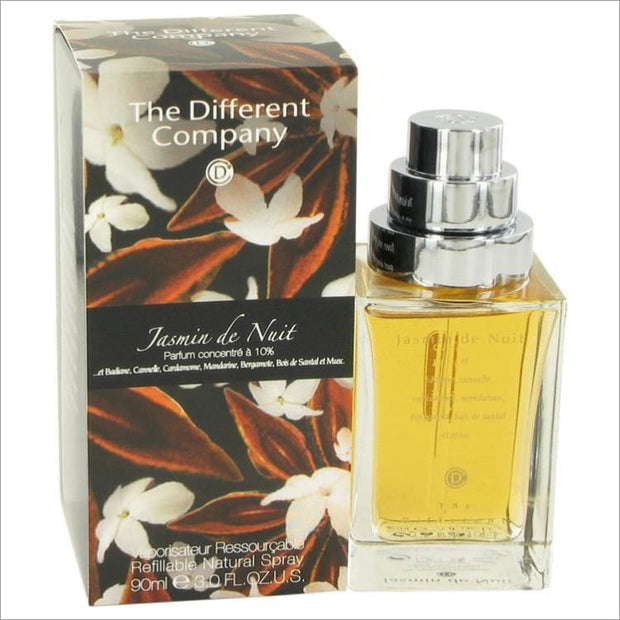 Jasmin De Nuit by The Different Company Eau De Parfum Spray 3 oz for Women - PERFUME