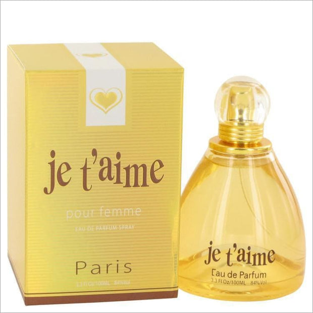 Je Taime by YZY Perfume Eau De Parfum Spray 3.3 oz for Women - PERFUME