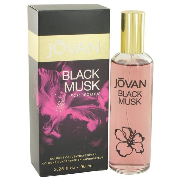 Jovan Black Musk by Jovan Cologne Concentrate Spray 3.25 oz for Women - PERFUME
