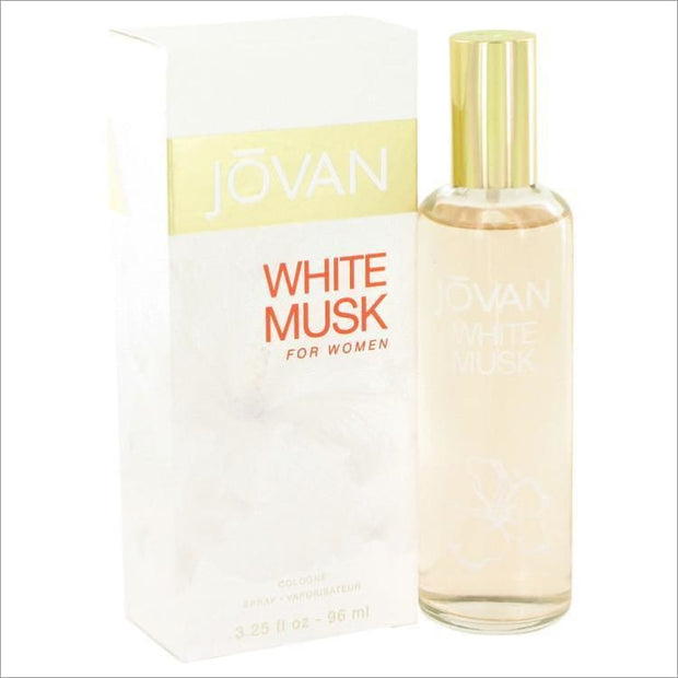 JOVAN WHITE MUSK by Jovan Eau De Cologne Spray 3.2 oz for Women - PERFUME