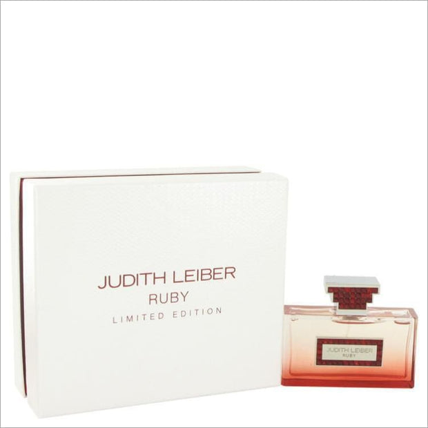 Judith Leiber Ruby by Judith Leiber Eau De Parfum Spray (Limited Edition) 2.5 oz for Women - PERFUME