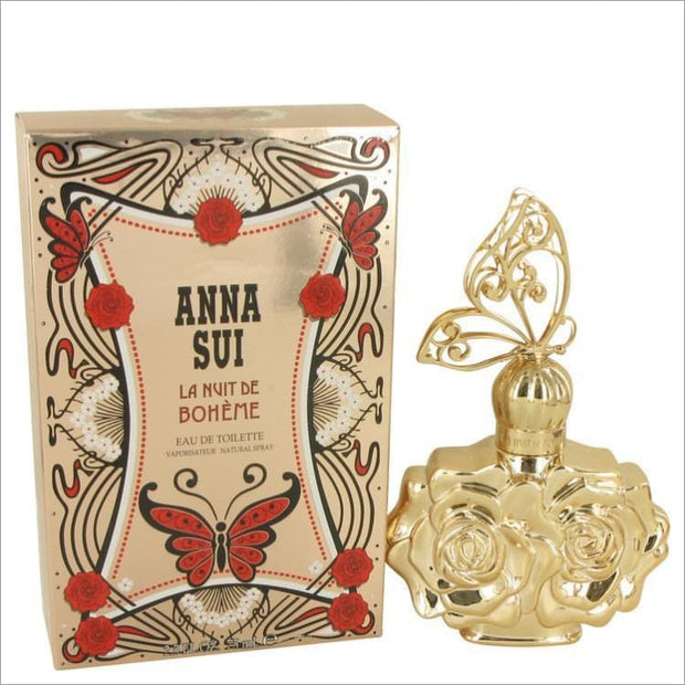 La Nuit De Boheme by Anna Sui Eau De Parfum Spray 1.7 oz for Women - PERFUME