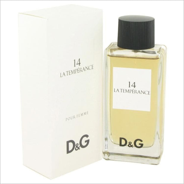 La Temperance 14 by Dolce & Gabbana Eau De Toilette Spray 3.3 oz for Women - PERFUME