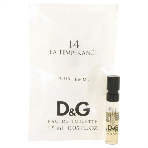 La Temperance 14 by Dolce & Gabbana Vial (Sample) .05 oz for Women - PERFUME