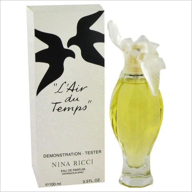 LAIR DU TEMPS by Nina Ricci Eau De Parfum Spray (Tester) 3.4 oz for Women - PERFUME