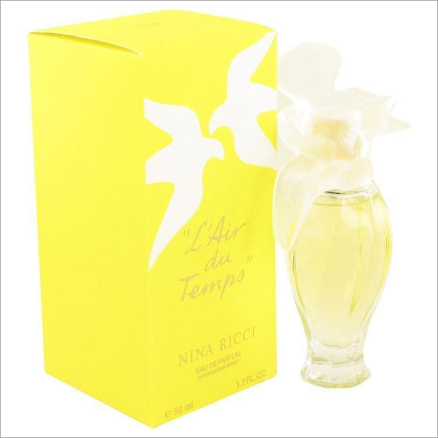 LAIR DU TEMPS by Nina Ricci Eau De Parfum Spray with Bird Cap 1.7 oz for Women - PERFUME