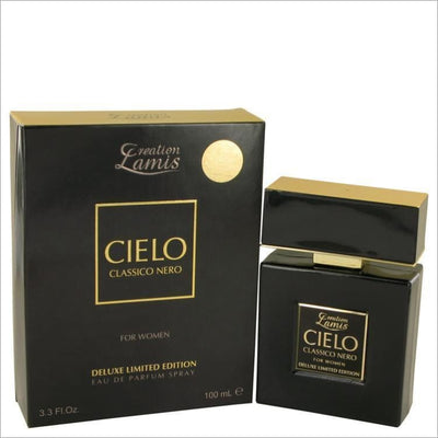 Lamis Cielo Classico Nero by Lamis Eau De Parfum Spray Deluxe Limited Edition 3.3 oz for Women - PERFUME