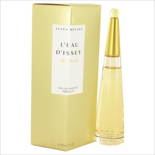 Leau Dissey Absolue by Issey Miyake Eau De Parfum Spray 3 oz for Women - PERFUME