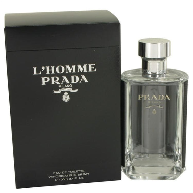 Lhomme Prada by Prada Eau De Toilette Spray 3.4 oz for Men - COLOGNE