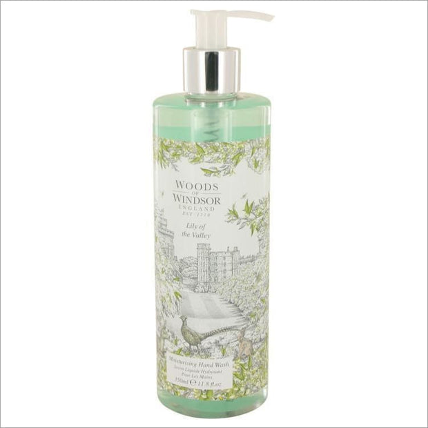 Lily of the Valley (Woods of Windsor) by Woods of Windsor Hand Wash 11.8 oz for Women - PERFUME