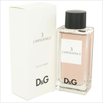 LImperatrice 3 by Dolce & Gabbana Eau De Toilette Spray 3.3 oz for Women - PERFUME
