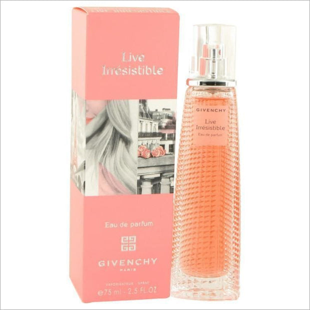 Live Irresistible by Givenchy Eau De Parfum Spray 2.5 oz for Women - PERFUME