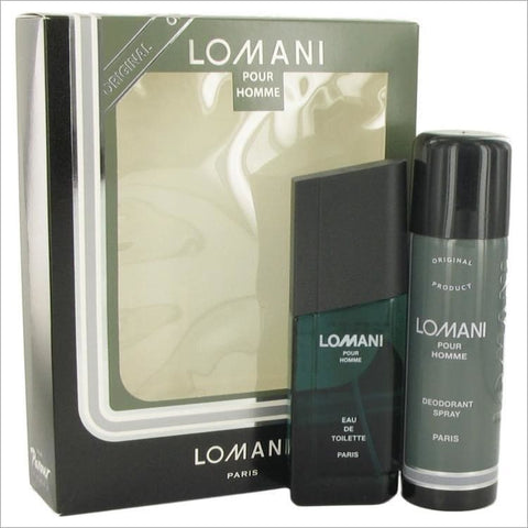 LOMANI by Lomani Gift Set -- for Men - COLOGNE