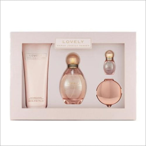 Lovely Sjp 4 Pcs Set: 3.4 Sp - South Beach Fragrance Gift Set