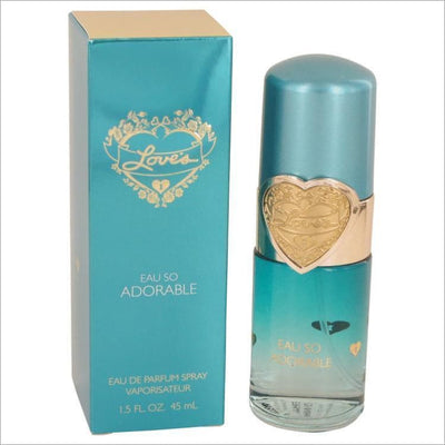Loves Eau So Adorable by Dana Eau De Parfum Spray 1.5 oz for Women - PERFUME